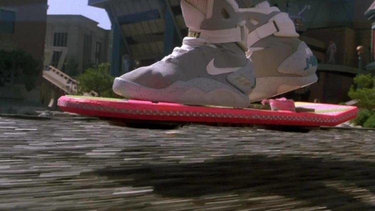 Ховерборд из фильма Назад в будущее