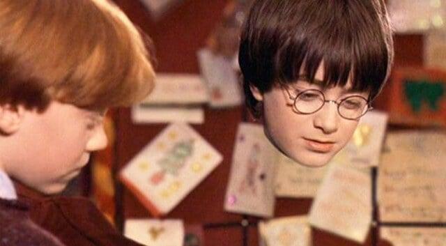 Плащ-невидимка Гарри Поттера