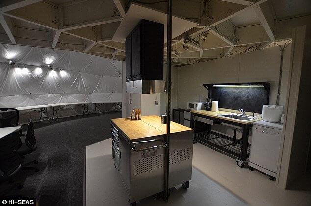 Проект Hi-Seas показал дом участников космического эксперимента