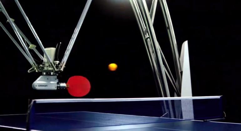 omron-ping-pong-robot