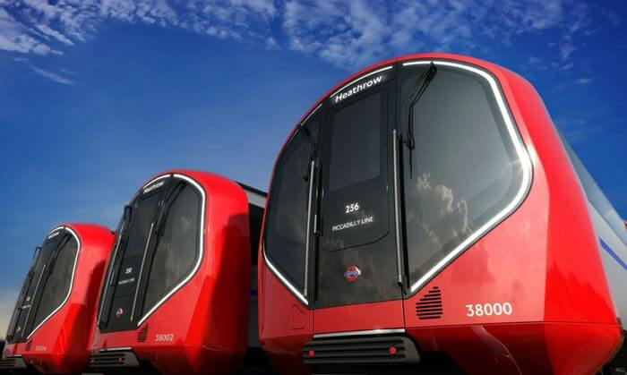 Лондонский поезд будущего