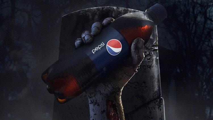 Компания Pepsi разыграла посетителей кинотеатра в Хэллоуин