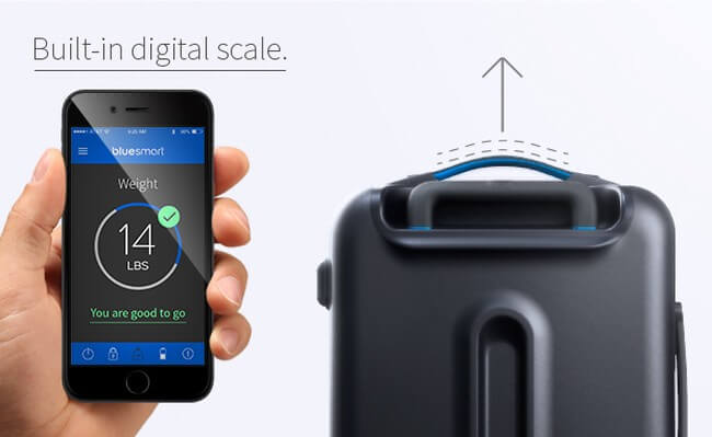 The Bluesmart – умный чемодан для продвинутых путешественников