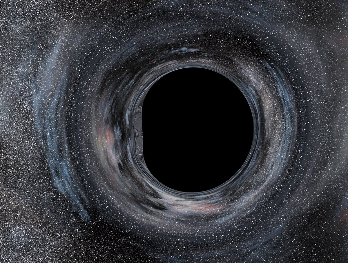 Interstellar movie black hole concept  Movies amp TV Stack