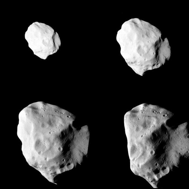 Астероид Lutetia