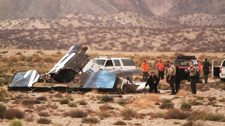 Что пережил пилот SpaceShipTwo