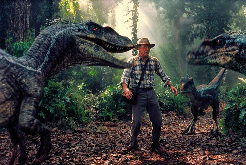a story of a tropical island that is the home to living dinosaurs in jurassic park The jurassic park franchise is about regenerated dinosaurs on a island called island nublar in jurassic world the ride in jurassic park ivy tropical storm.