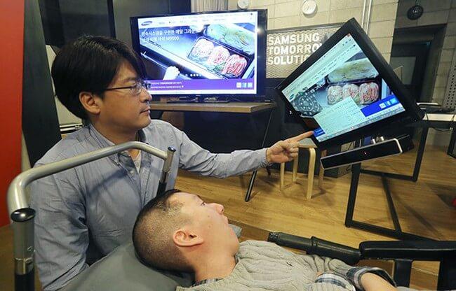 Samsung разработала новую систему отслеживания движений зрачков