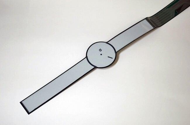 Sony может показать умные часы, изготовленные полностью из электронной бумаги