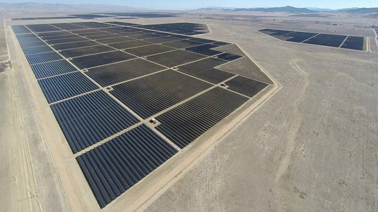 Солнечная электростанция Topaz