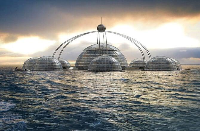 Плавающие здания