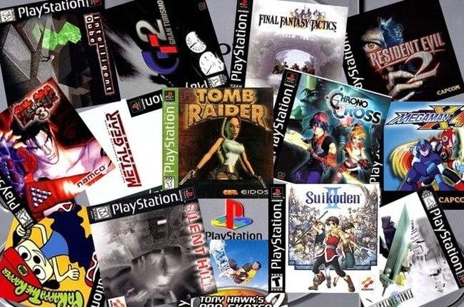 Игры для оригинальной PlayStation
