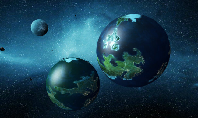 Бинарные планеты