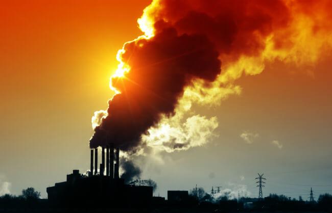 Эмиссия углекислого газа