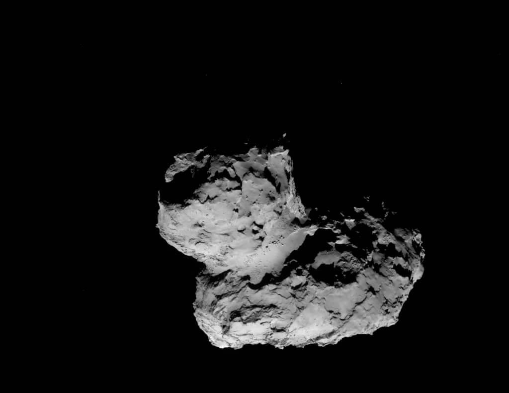 Почему у кометы Чурюмова — Герасименко форма утки?