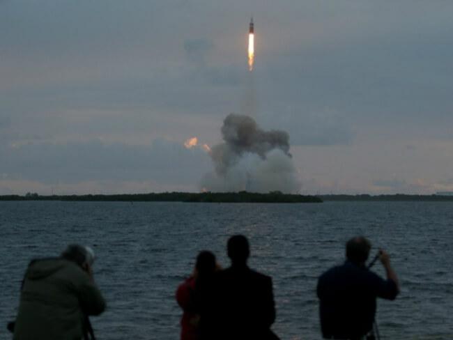 Космическая капсула Orion стартовала успешно