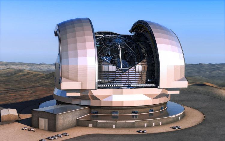 Крупнейший в мире телескоп