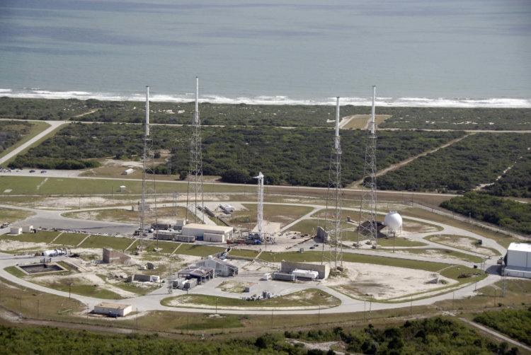 Стартовая площадка Falcon 9