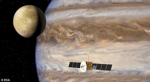 Juice проверит наличие в системе Юпитера внеземной жизни