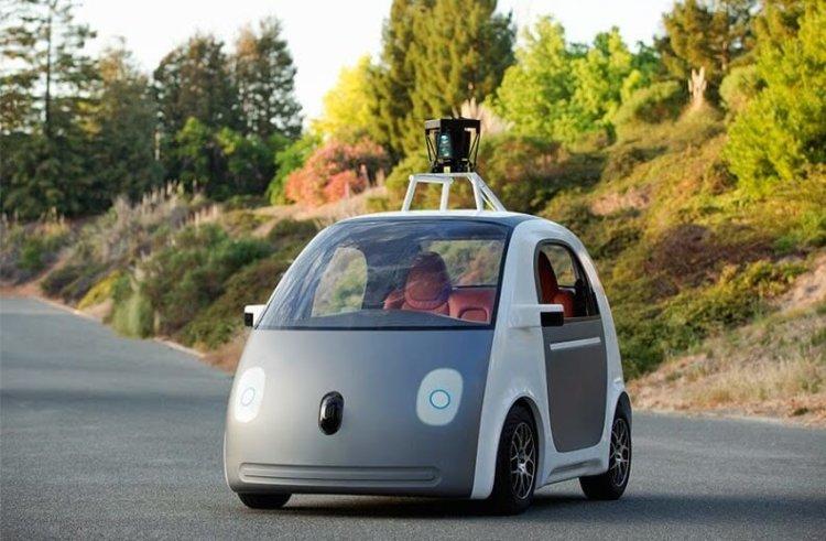 Самоуправляемые авто Google
