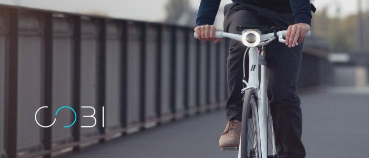 Умный велосипед COBI