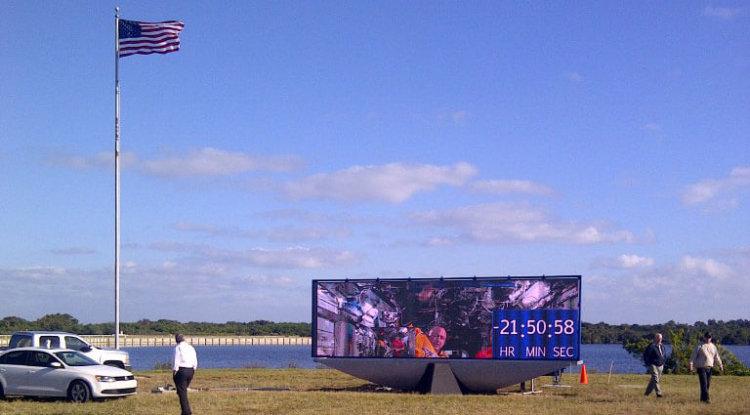 Новый дисплей NASA