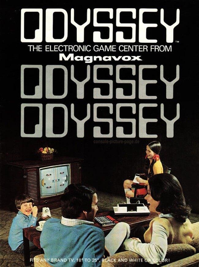 Реклама Magnavox Odyssey в журнале