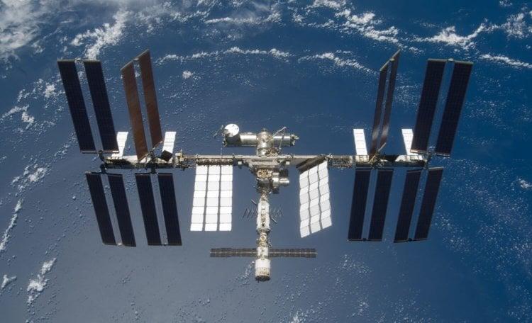 Процесс строительства Международной космической станции