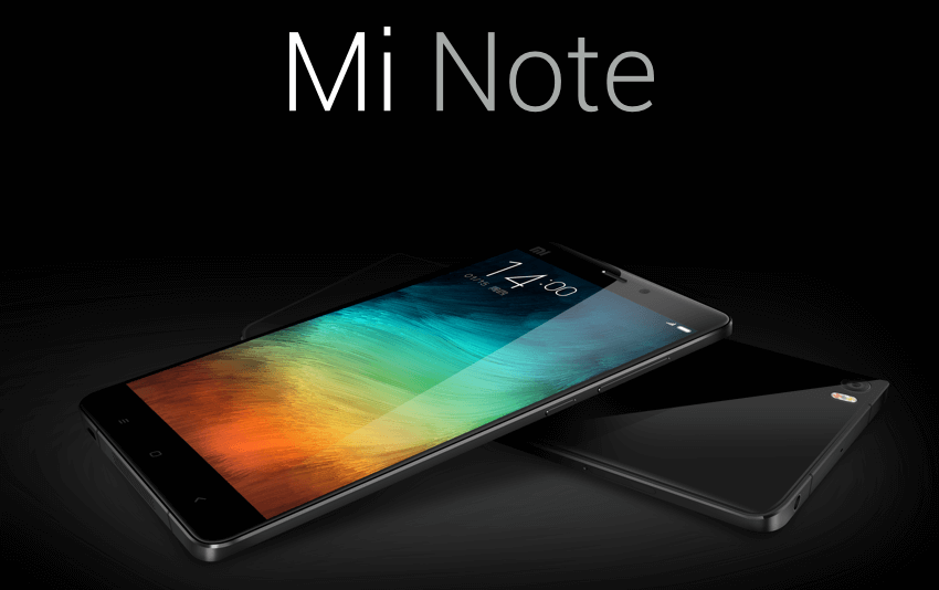 Xiaomi представила фаблеты Mi Note и Mi Note Pro