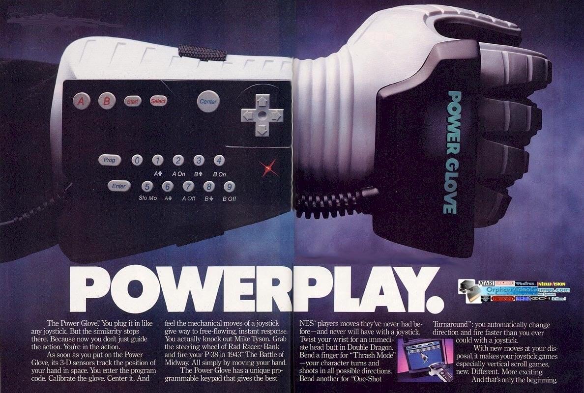 Древний игровой контроллер Power Glove используют для создания мультфильмов
