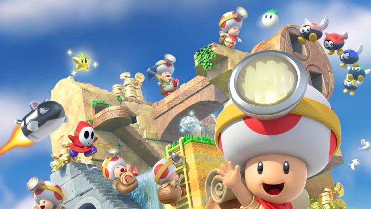 Обзор игры Captain Toad: Treasure Tracker: гениальная грибная головоломка