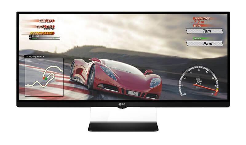 LG представила 34-дюймовый вогнутый монитор для геймеров