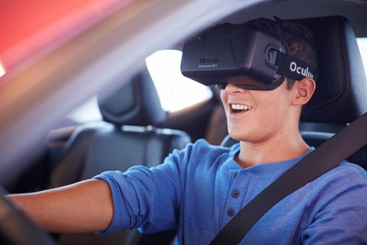Oculus Rift в авто