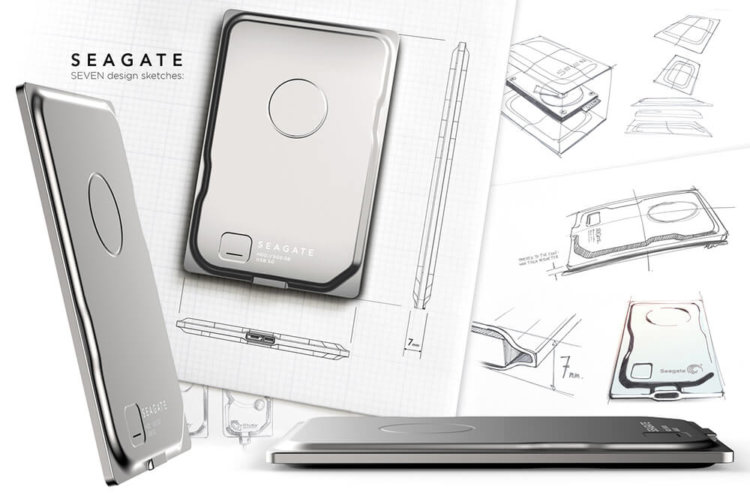 Seagate Seven – самый тонкий внешний жёсткий диск в мире