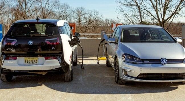 BMW i3 и Volkswagen e-Golf