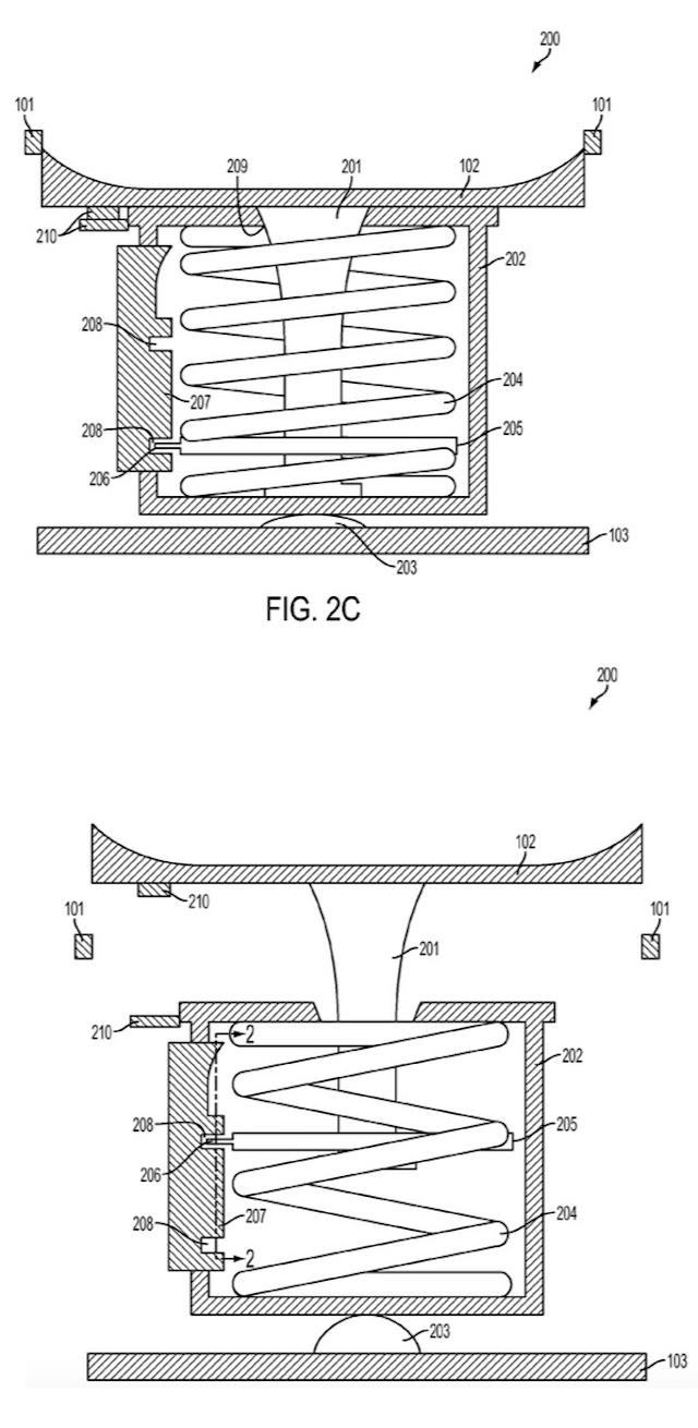 Компания Apple запатентовала смартфон со встроенным джойстиком
