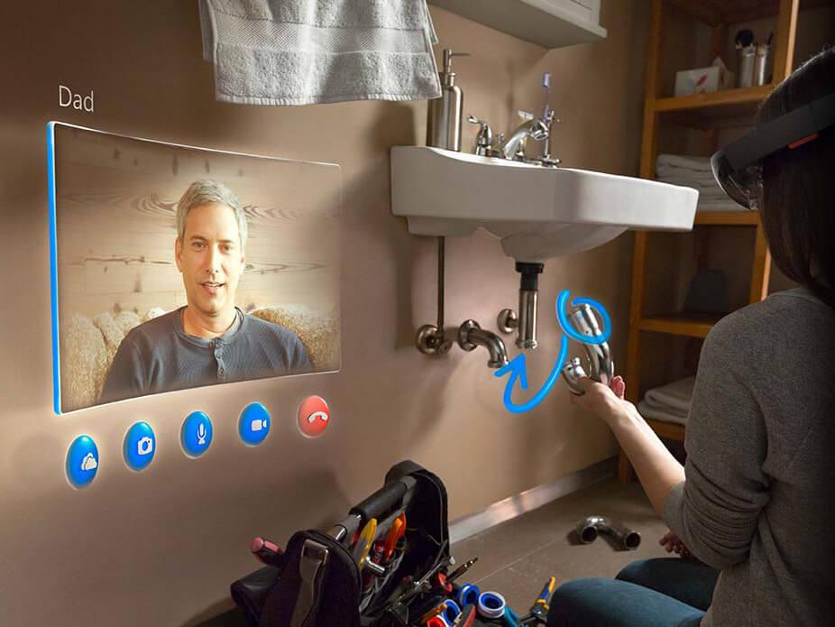 Microsoft Hololens обзор