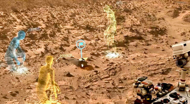 Изучение Марса при помощи Holographic