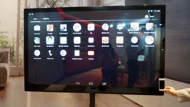 #CES | Все лучшее – детям! 65-дюймовый планшет Nabi Big Tab XL