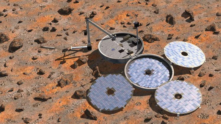 Пропавший в 2003 году космический аппарат Beagle 2 обнаружен на поверхности Марса