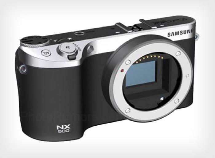 Samsung покажет фотоаппарат NX500