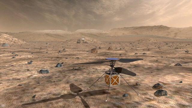 Марсианский дрон
