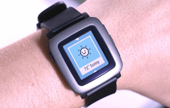 Смарт-часы Pebble Time собрали миллион долларов за 40 минут