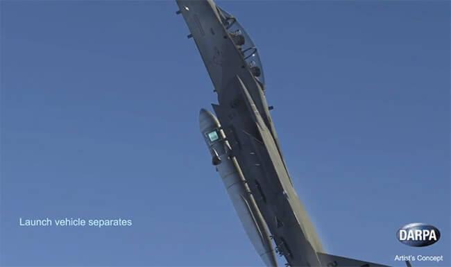 #видео | DARPA планирует запускать в космос ракеты с помощью самолётов