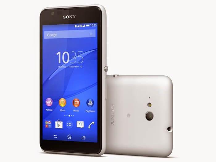 Sony анонсировала новый смартфон Xperia E4g