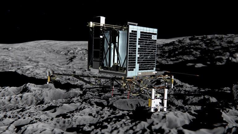 ESA прекращает поиски спускаемого аппарата Philae на поверхности кометы