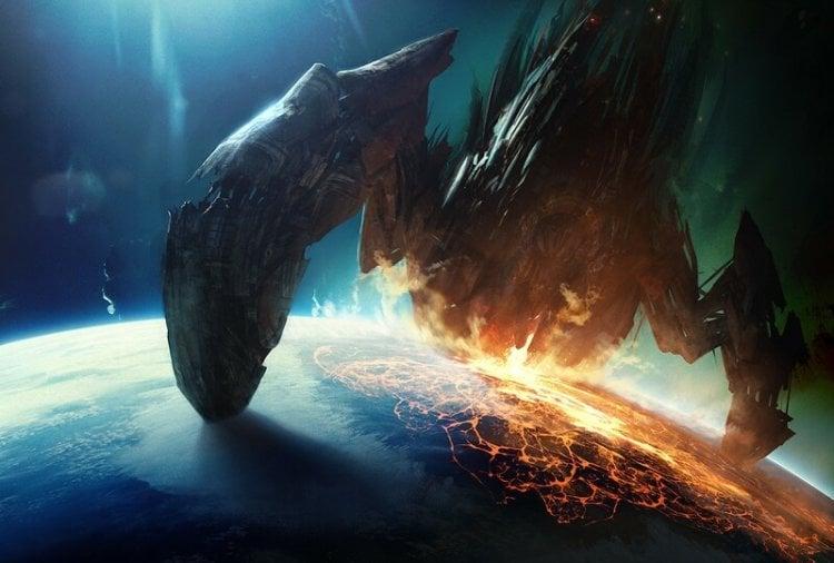 Вторжение на Землю - иллюстрация