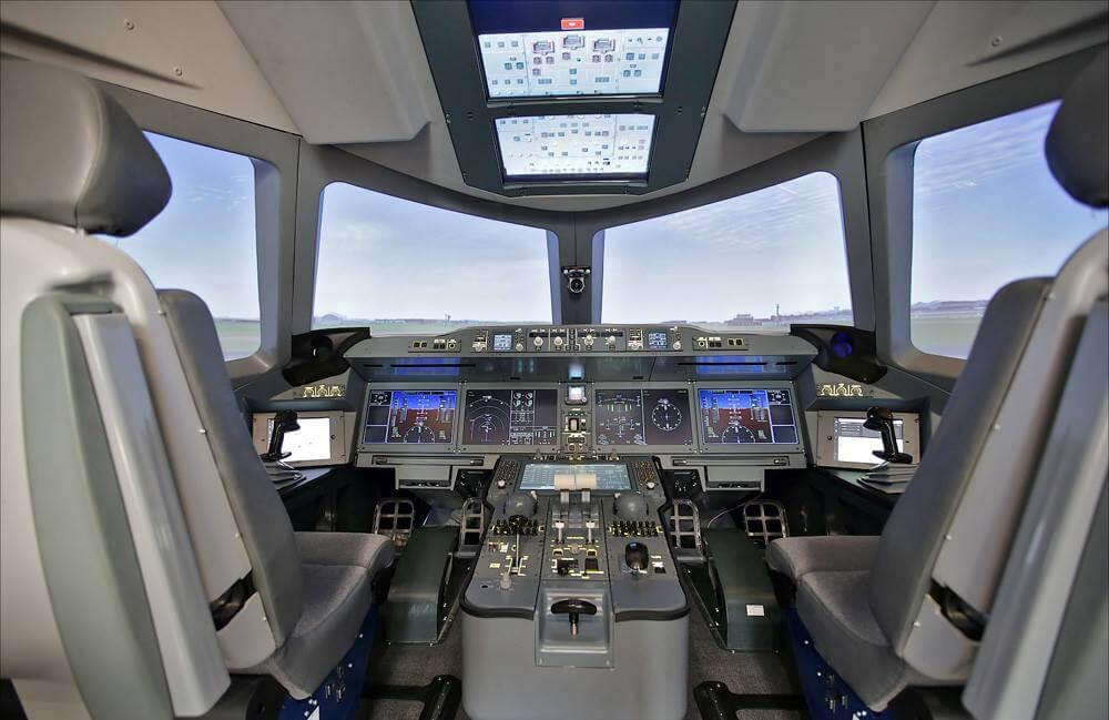 Опубликованы первые фотографии интерьера самолёта МС-21