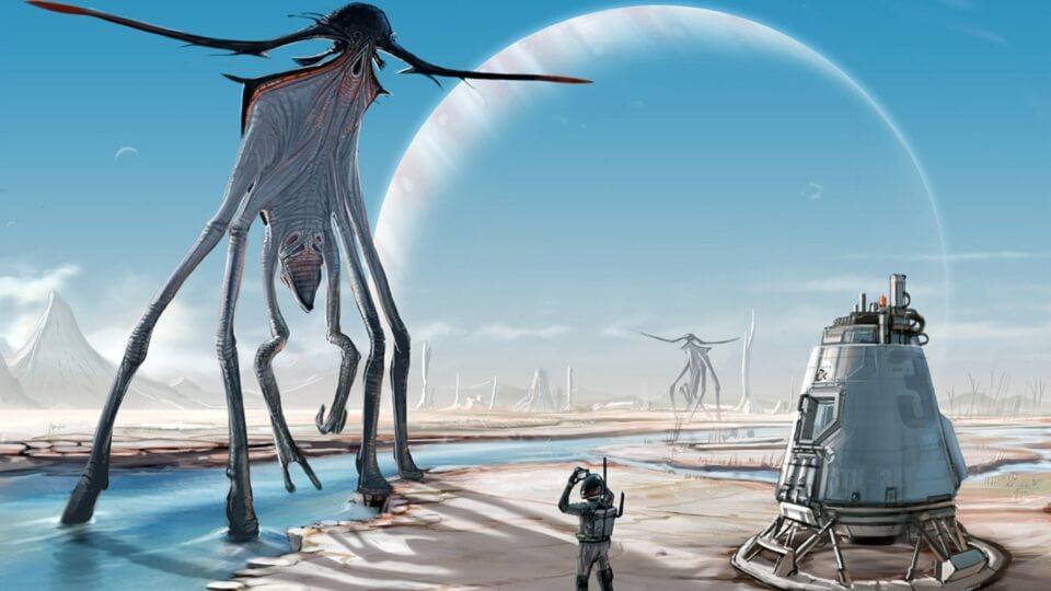 Инопланетяне часть вторая контакт