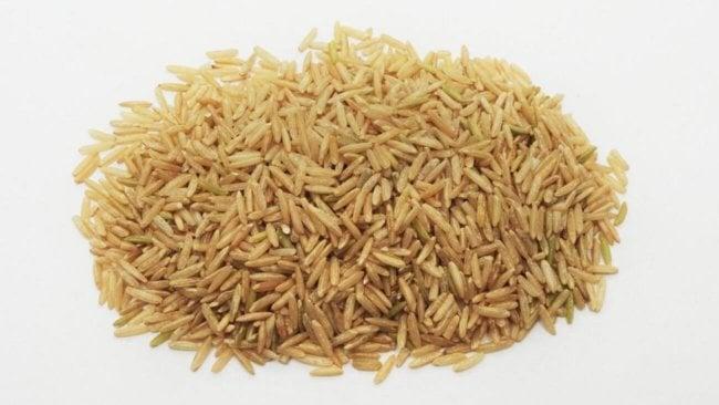 Длиннозерный коричневый рис басмати